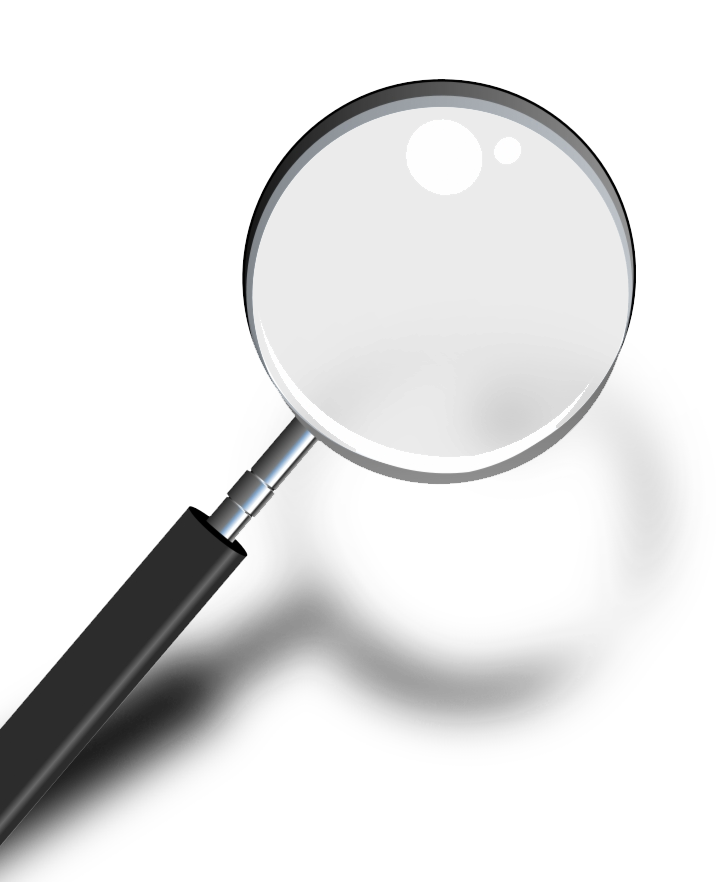 search engine optimisation magnifying glass